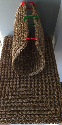 Click for a larger photo of the Braided Sea Grass Mat