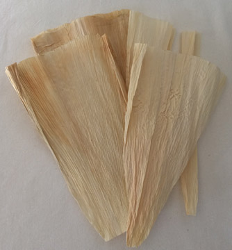 Click for a larger photo of the Dried Corn Husks