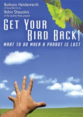 Get Your Bird Back! What to Do When A Parrot is Lost DVD #4