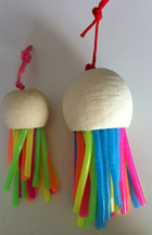 Click here for a larger photo of the Jellyfish Toys