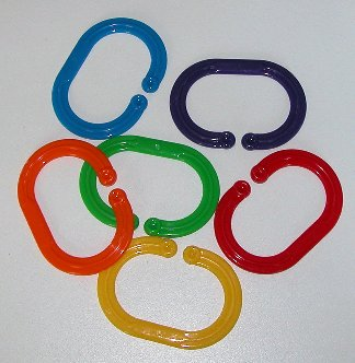 Larger photo of Plastic Safety Links
