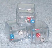"Click for larger photo of ""3-in-1 Dice"""